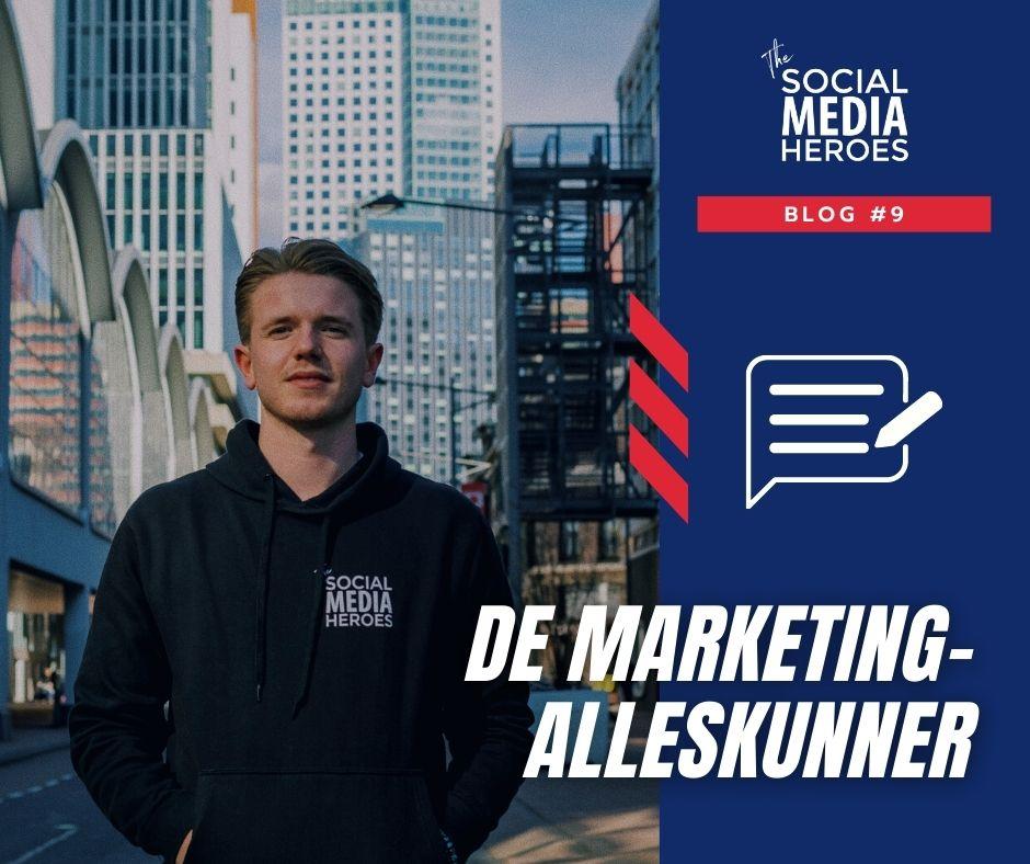 Op zoek naar die ene online marketing-alleskunner? Stop met zoeken!
