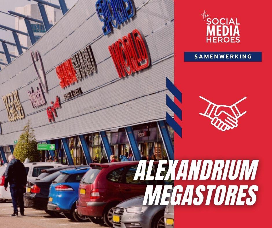 Nieuwe partner: Alexandrium Megastores!